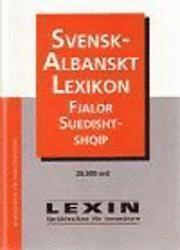 bokomslag Svensk-albanskt lexikon