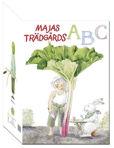 bokomslag Majas Trädgårds ABC