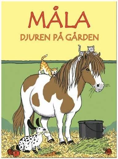bokomslag Måla djur på gården