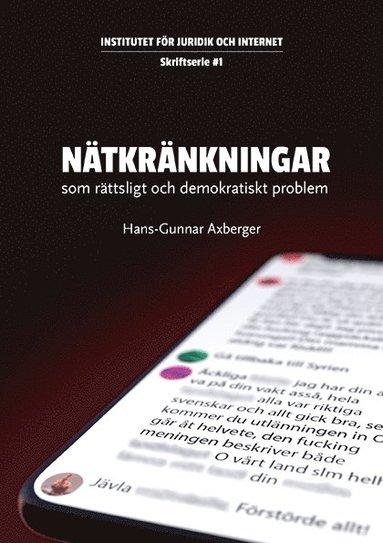 bokomslag Nätkränkningar - som rättsligt och demokratiskt problem