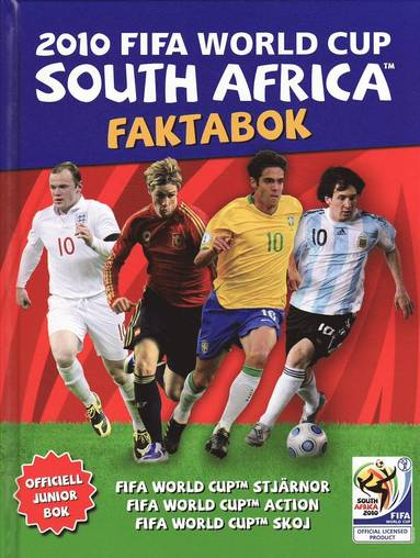 bokomslag FIFA VM i Sydafrika 2010 : faktabok