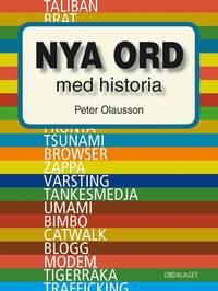 bokomslag Nya ord med historia