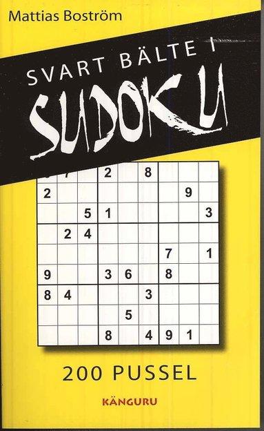 bokomslag Svart bälte i sudoku : 200 pussel