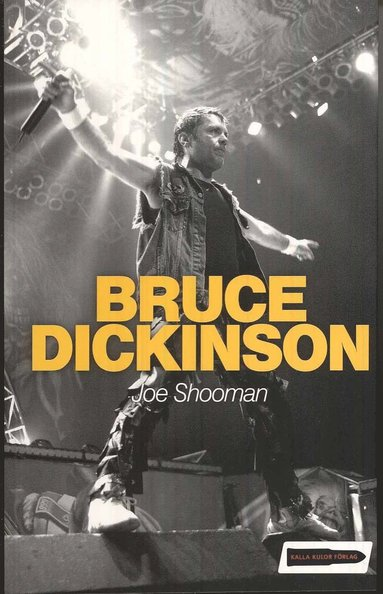 bokomslag Bruce Dickinson