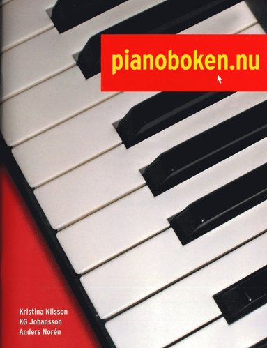 bokomslag Pianoboken.nu