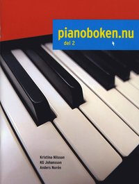 bokomslag Pianoboken.nu. Del 2