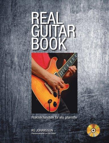 bokomslag Real Guitar Book inkl CD