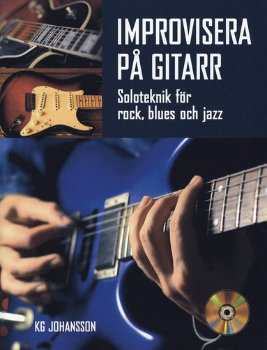 bokomslag Improvisera på gitarr inkl CD