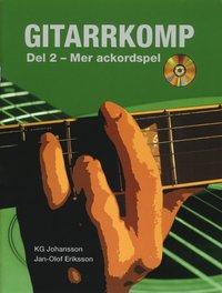 bokomslag Gitarrkomp del 2 : mer ackordspel