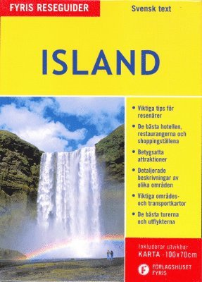 bokomslag Island (med karta)