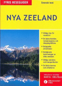 bokomslag Nya Zeeland med karta