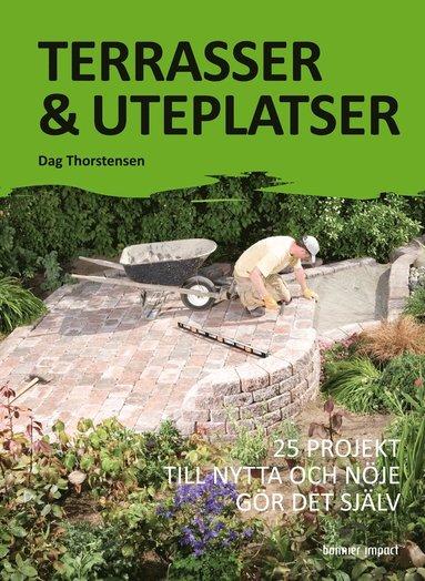bokomslag Terrasser & uteplatser : 25 projekt till nytta och nöje gör det själv