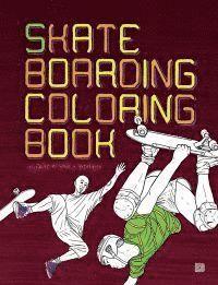 bokomslag Skateboarding coloring book