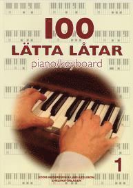 bokomslag 100 lätta låtar piano/keyboard 1