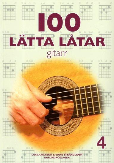 bokomslag 100 lätta låtar gitarr 4