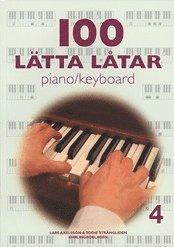 bokomslag 100 lätta låtar piano/keyboard 4