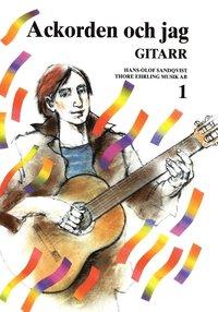 bokomslag Ackorden och jag Gitarr 1