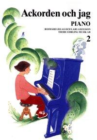 bokomslag Ackorden och jag Piano 2