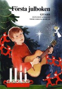 bokomslag Första Julboken Gitarr