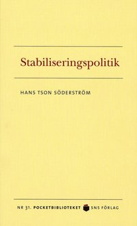 bokomslag Stabiliseringspolitik