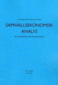 bokomslag Samhällsekonomisk analys