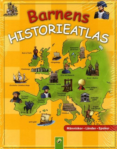 bokomslag Barnens historieatlas