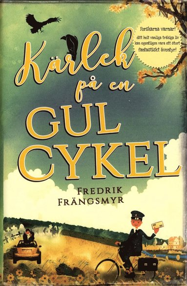 bokomslag Kärlek på en gul cykel