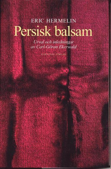 bokomslag Persisk balsam