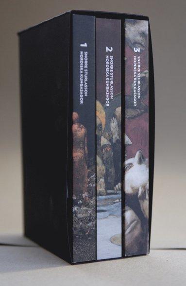 bokomslag Nordiska kungasagor. Box (del 1-3)