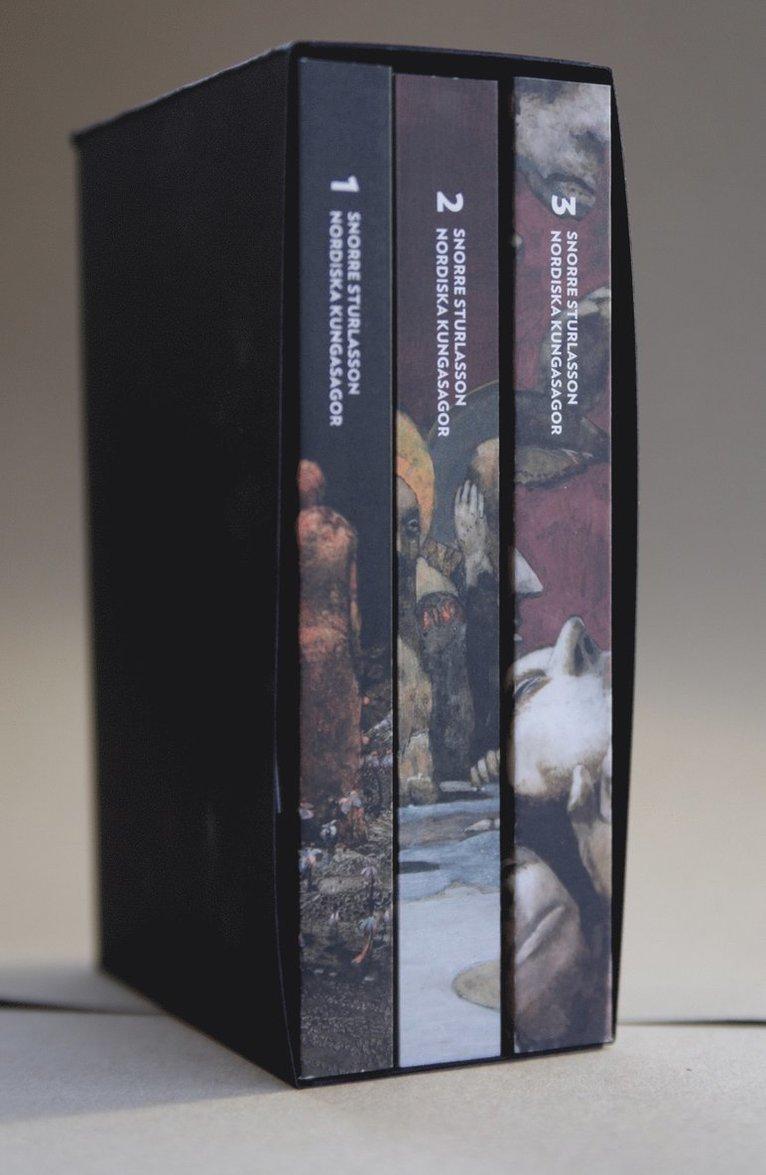 Nordiska kungasagor. Box (del 1-3) 1