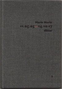 bokomslag 11.05.05-14.10.17 : dikter