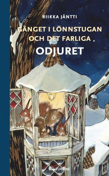 bokomslag Gänget i Lönnstugan och det farliga odjuret