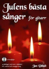 bokomslag Julens bästa sånger för gitarr (med cd och på Spotify)