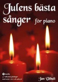 bokomslag Julens bästa sånger för piano (spiral)