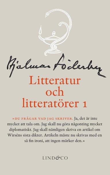 bokomslag Litteratur och litteratörer 1. Litteraturkritik