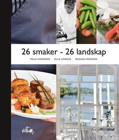 bokomslag 26 smaker - 26 landskap