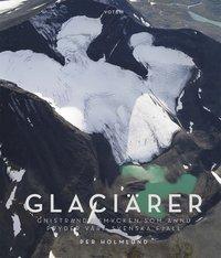 bokomslag Glaciärer : gnistrande smycken som ännu pryder våra svenska fjäll
