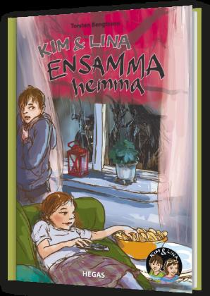 bokomslag Kim och Lina ensamma hemma