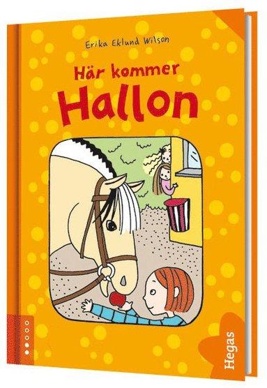 bokomslag Här kommer Hallon (bok + CD)
