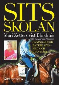 bokomslag Sitsskolan : övningar för bättre sits : med och utan häst