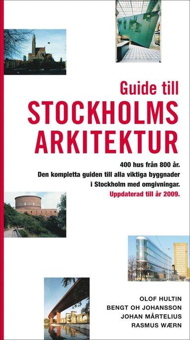 bokomslag Guide till Stockholms arkitektur