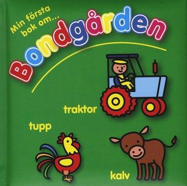 bokomslag Min första bok om bondgården