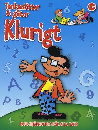 bokomslag Klurigt : rolig hjärngympa för alla barn 8-12 år (Blå 1)