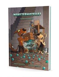 bokomslag Monsterhotellet - Storstädningen