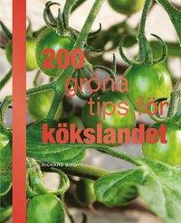 bokomslag 200 gröna tips för kökslandet