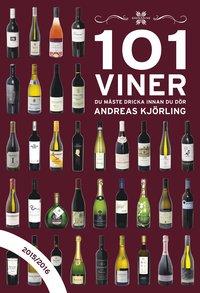 bokomslag 101 viner du måste dricka innan du dör 2015/2016