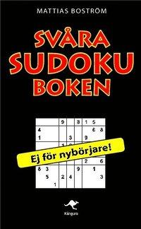 bokomslag Svåra sudokuboken
