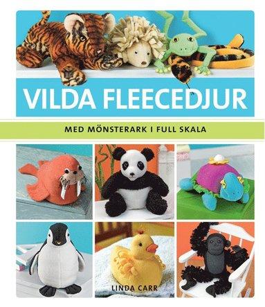 bokomslag Vilda fleecedjur - med mönsterark i full skala