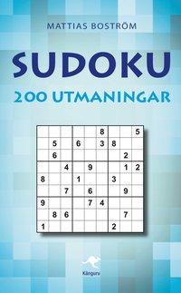 bokomslag Sudoku : 200 utmaningar