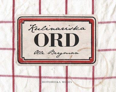 bokomslag Kulinariska ord